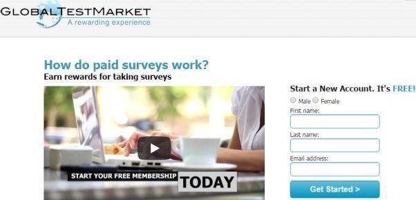 global test market Australia