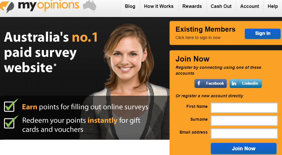 legitimate paid surveys Australia
