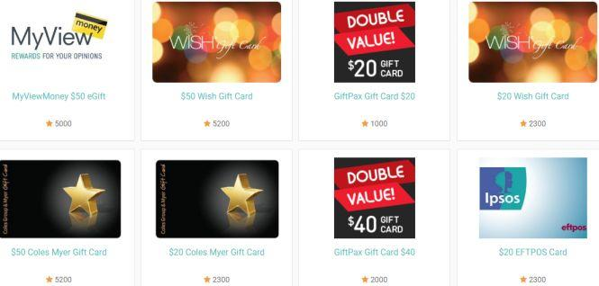 myview Australia rewards